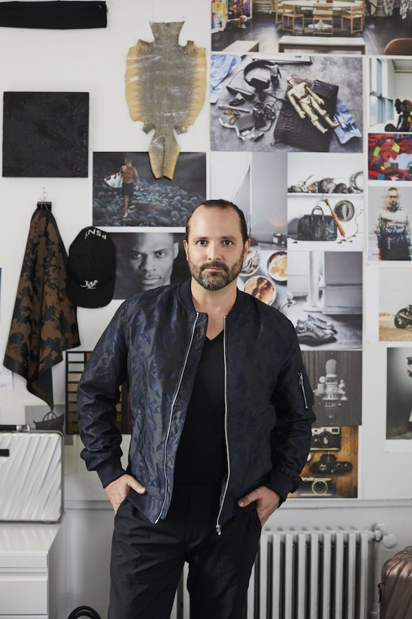 TUMI's Creative Director, Victor Sanz. Photo: Courtesy of TUMI.