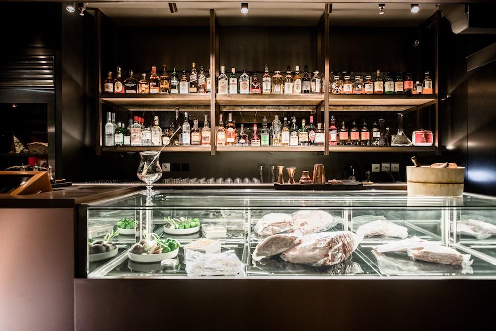 Wagyumafia's first full-service bar.