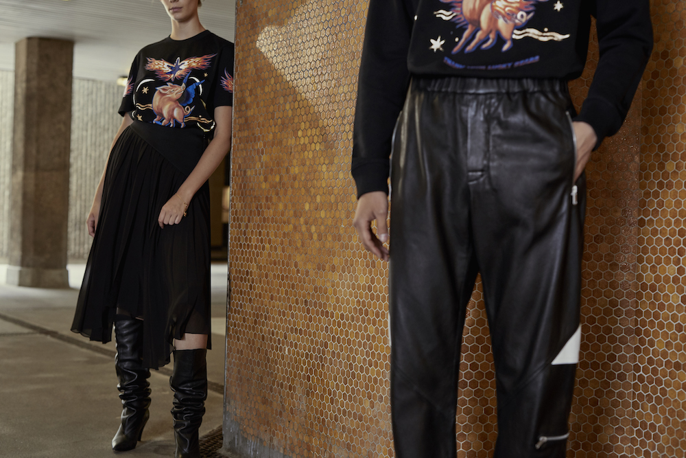 Givenchy's Flying Pig capsule collection