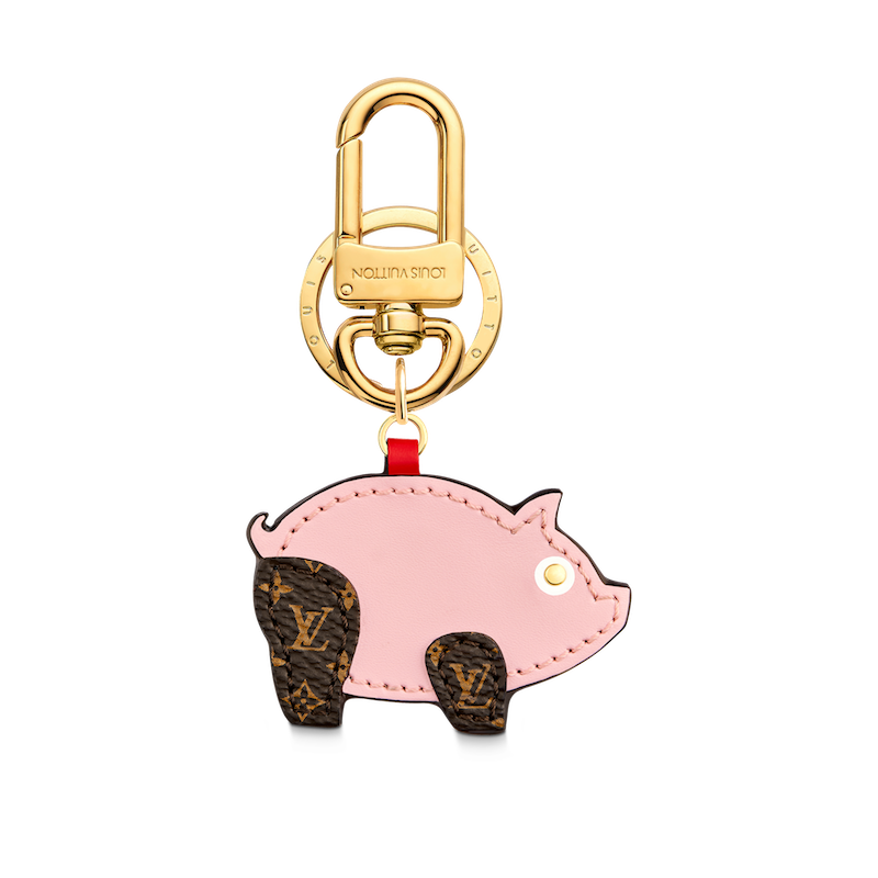 Louis Vuitton charm & key holder