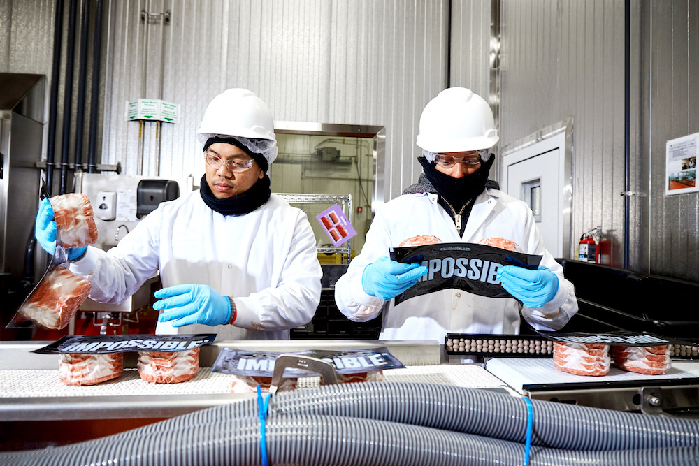 Workers at the Oakland food manufacturing site