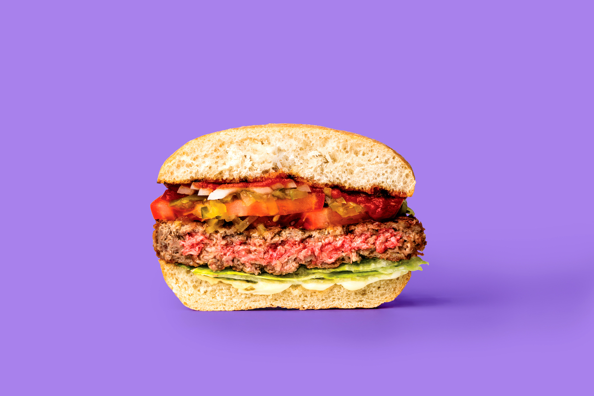 The meatless Impossible Burger