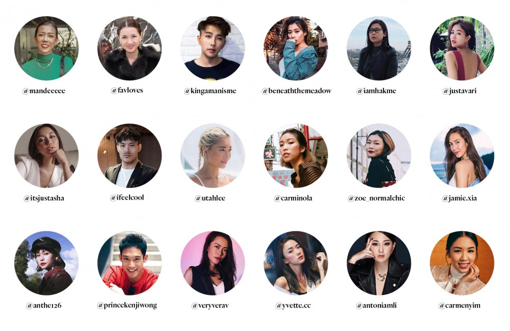 #legend100hk: Hong Kong's 100 Instagram Stars