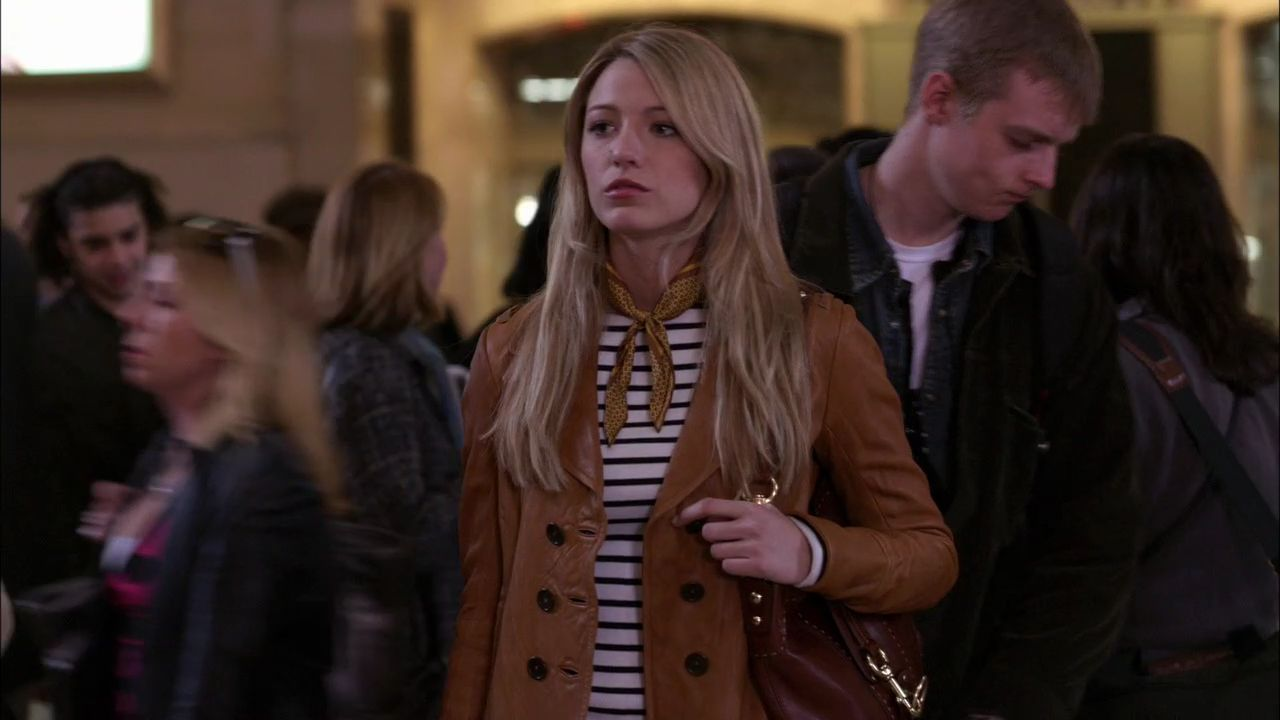 Serena (Blake Lively) in the first episode of the reboot
