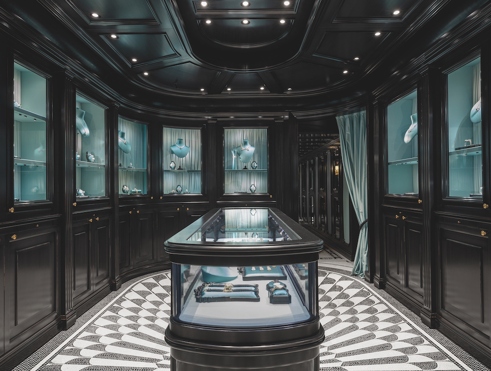 Gucci's new high jewellery boutique on Place Vendôme. Photo: Courtesy of Gucci.