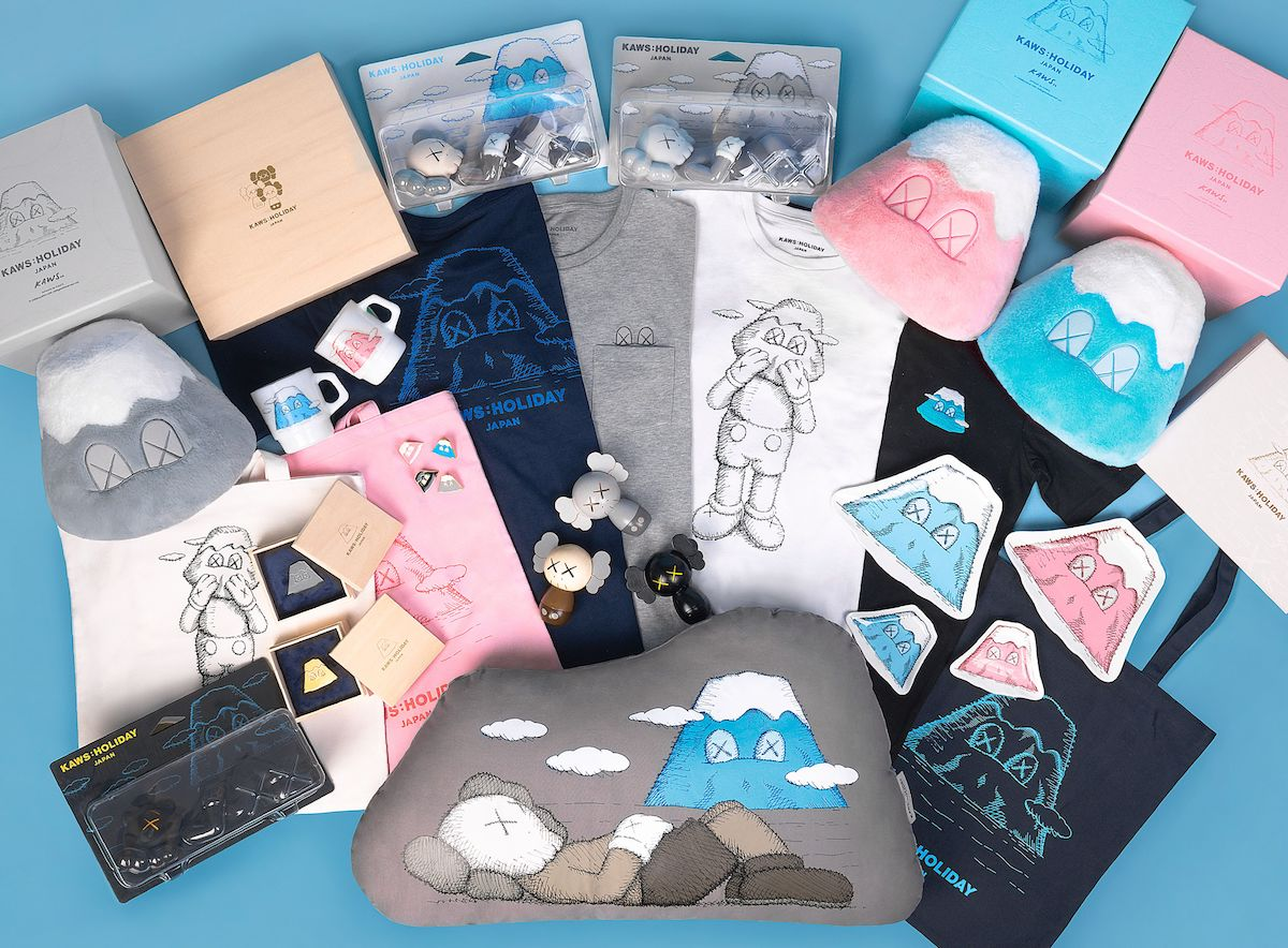 Kaws: Holiday collectables, the Mount Fuji edition