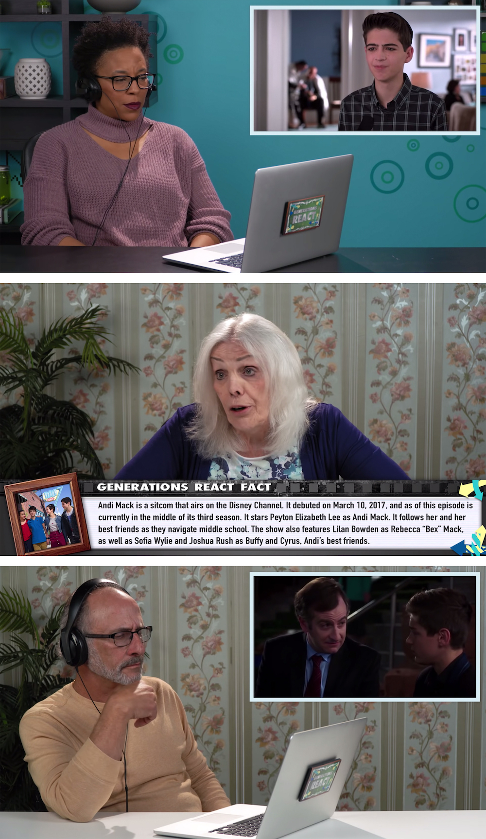 Elders react to Andi Mak