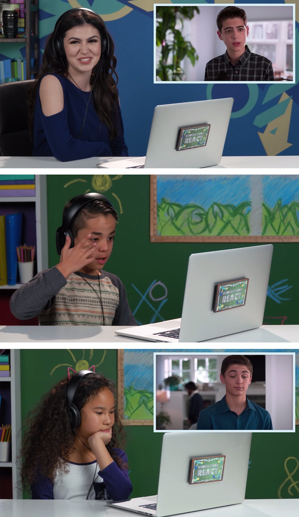 Kids and teens react to Andi Mak