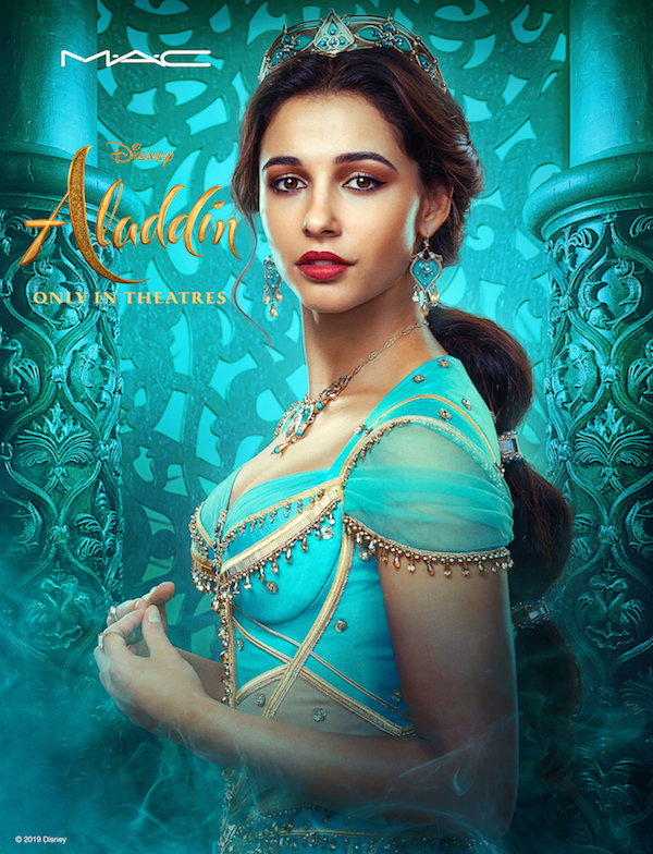 Naomi Scott as Princess Jasmine. Photo: Disney