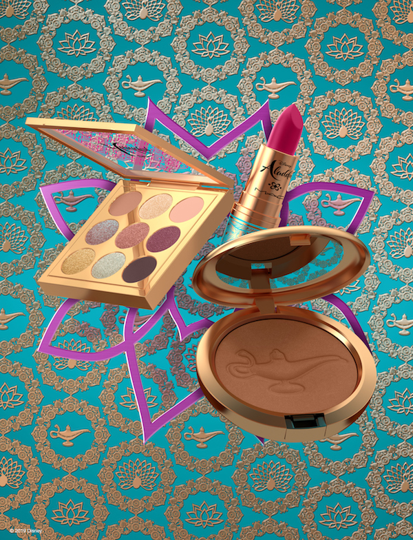 MAC Cosmetics x Disney's Aladdin makeup collection. Photo: Disney