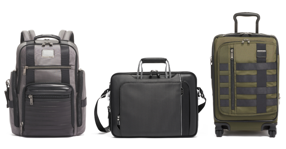 A selection of bags available in TUMI's Alpha Bravo Collection (pictures courtesy of TUMI)