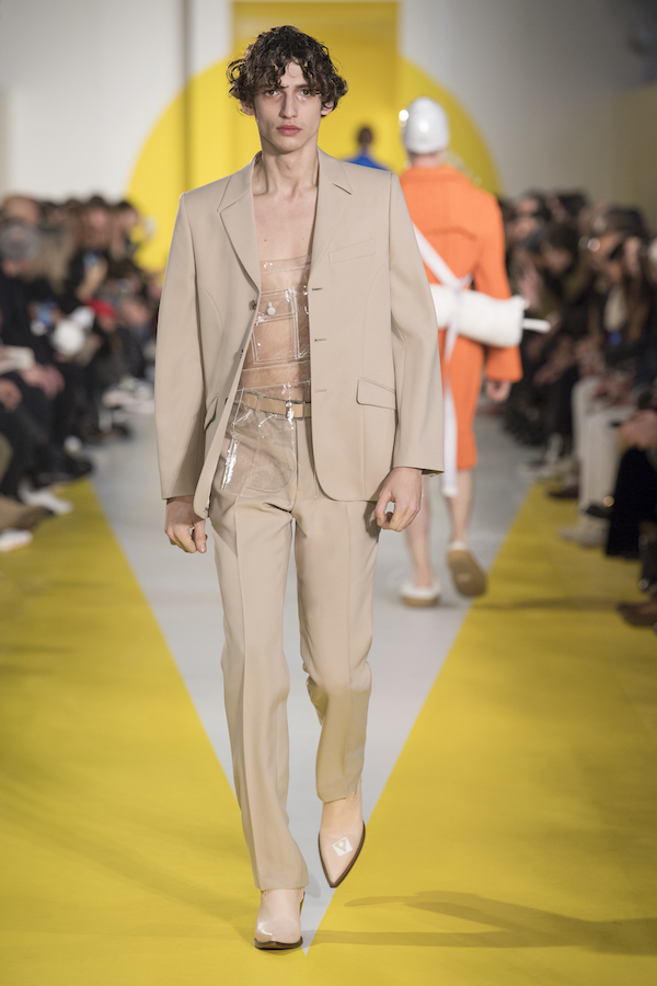 The nude suit from the FW2018 Collection by Maison Margiela (picture courtesy of Maison Margiela)