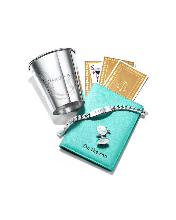 A selection of the gifts available for Father's Day 2019 at Tiffany & Co. (picture courtesy of Tiffany & Co.)