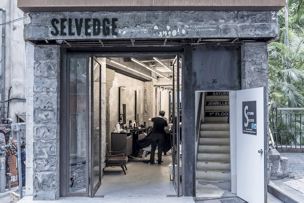 The Selvedge store front (picture courtesy of Selvedge Grooming)