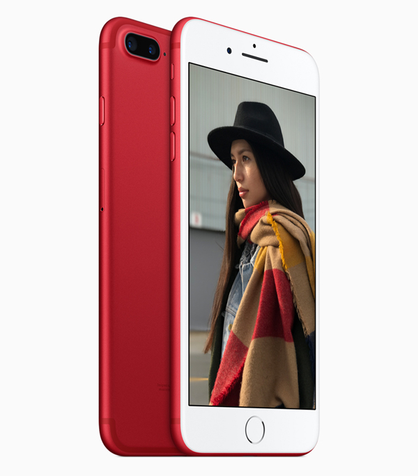 Apple's new PRODUCT(RED) iPhone 7