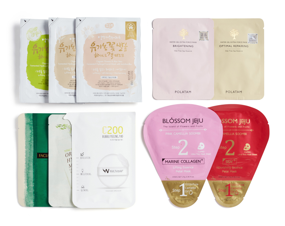 10 Days to Glow masks pack from Glow Recipe (available at Lane Crawford)