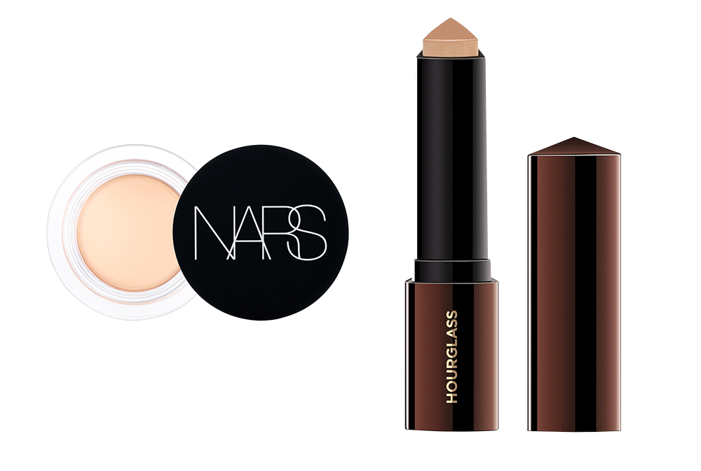 Soft Matte Complete Concealer from Nars, Vanish Seamless Finish Foundation Stick from Hourglass