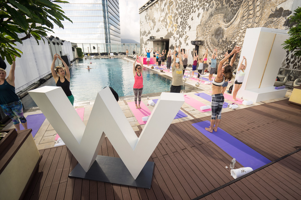 Sweat it Out at the W Hong Kong