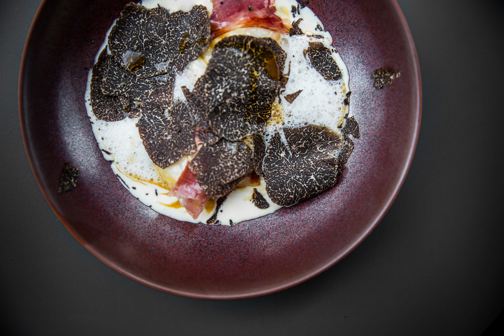 Gnocci with black truffle and Iberico ham - an exclusive dish only available at Taste of Hong Kong