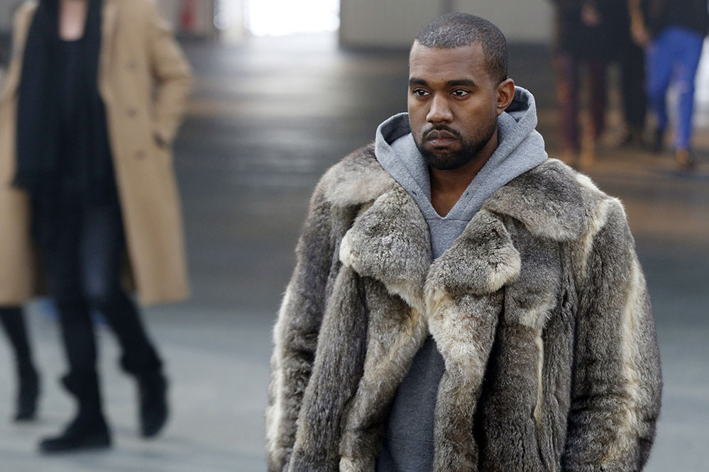 US musician Kanye West  (Credit: AFP PHOTO FRANCOIS GUILLOT)