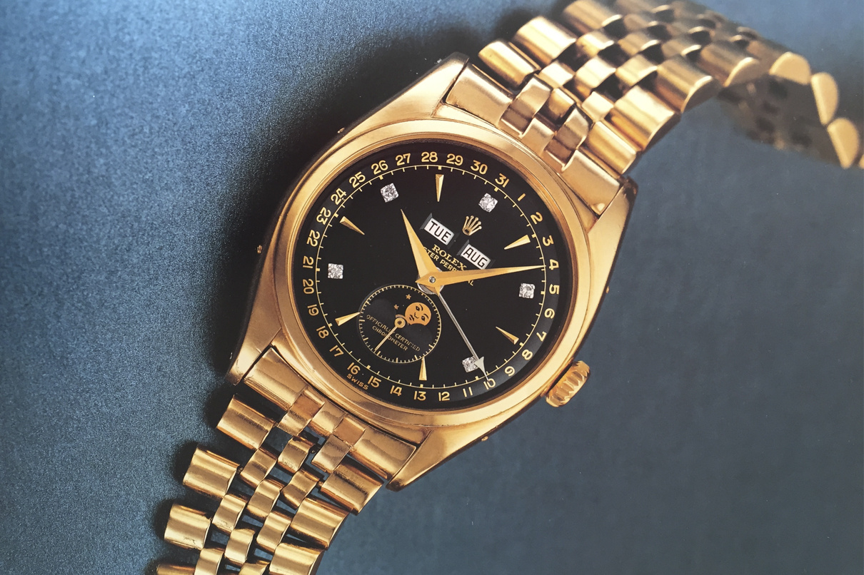The watch has potential to be the most expensive Rolex ever sold (Photo by Philips Auction House)