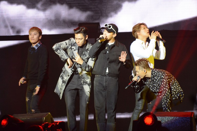 Big Bang performs in Dalian (Credit: Imaginechina)