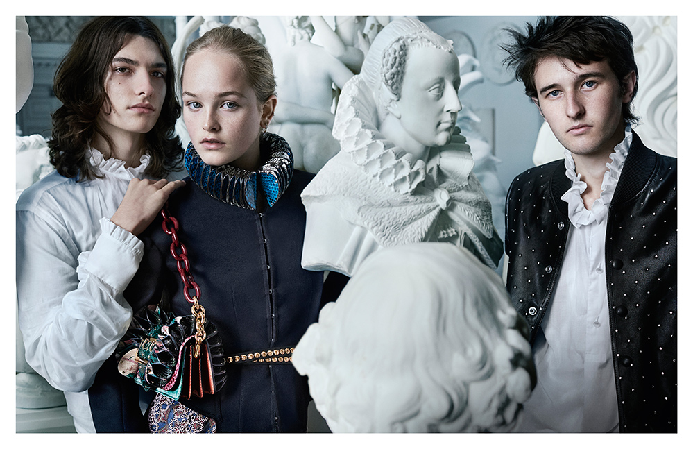 Photo by Mario Testino for Burberry