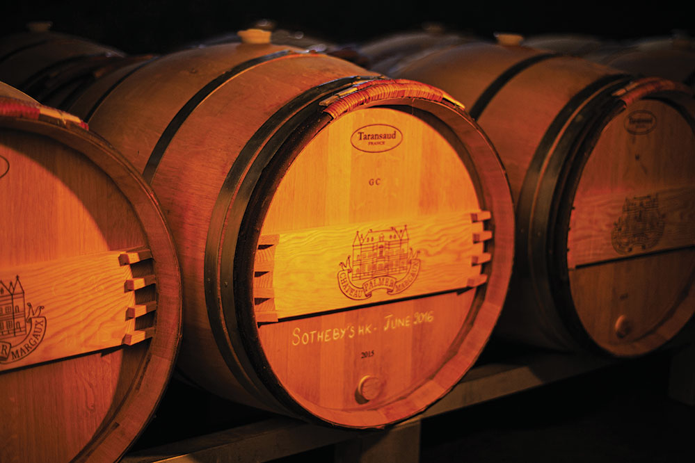 A 225-litre barrel of its 2015 en primeur will auction at Sotheby's Hong Kong on June 4