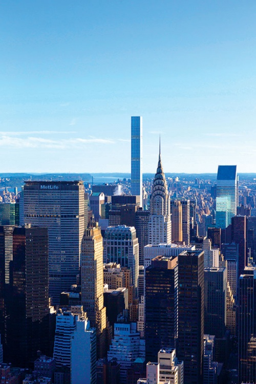 432 Park Avenue continues the evolution of New York's skyline (Credit: DBOX FOR CIM GROUP/MACKLOWE PROPERTIES)