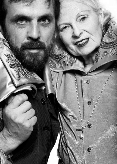 Vivienne Westwood and Andreas Kronthaler (Photo by Meinke Klein)