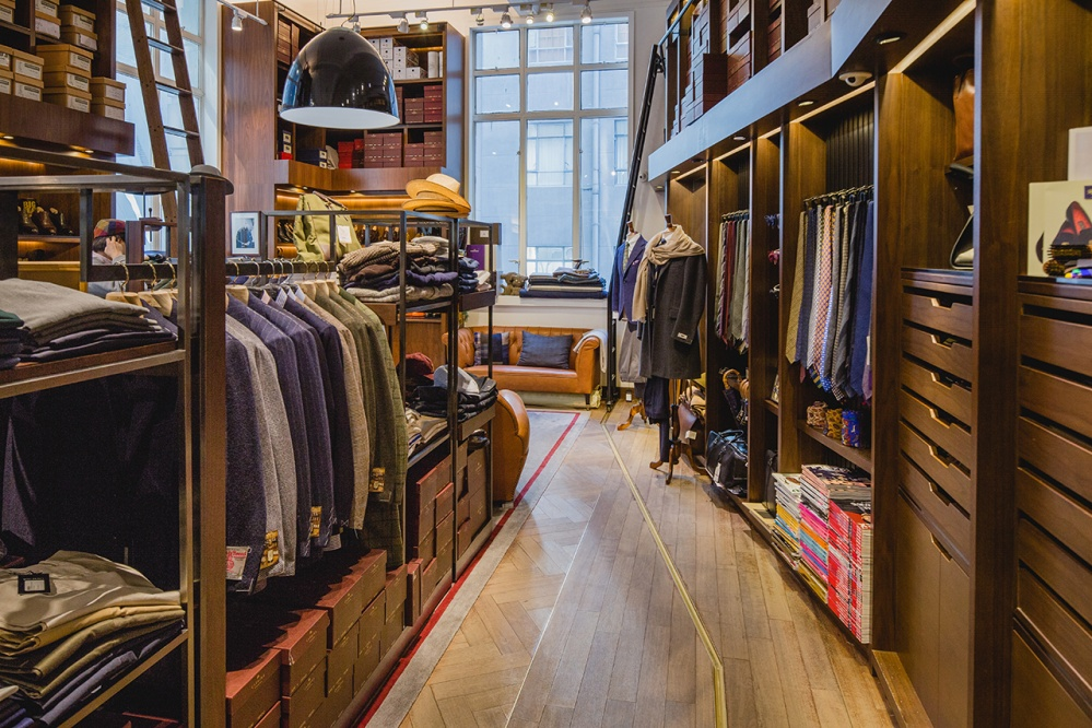 The Armoury has an instinctive and personal approach to menswear which has struck a chord with a core group of discerning customers in the Pedder Building
