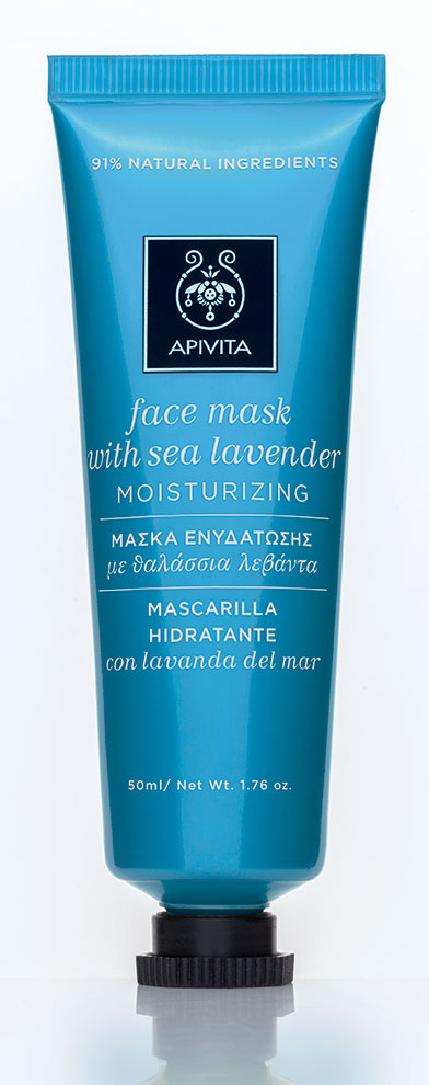 Apivita Face Mask with Sea Lavender