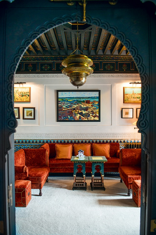 Hotel L Mamounia is Anya Hindmarch's stay of choice (Photos by James Bedford)