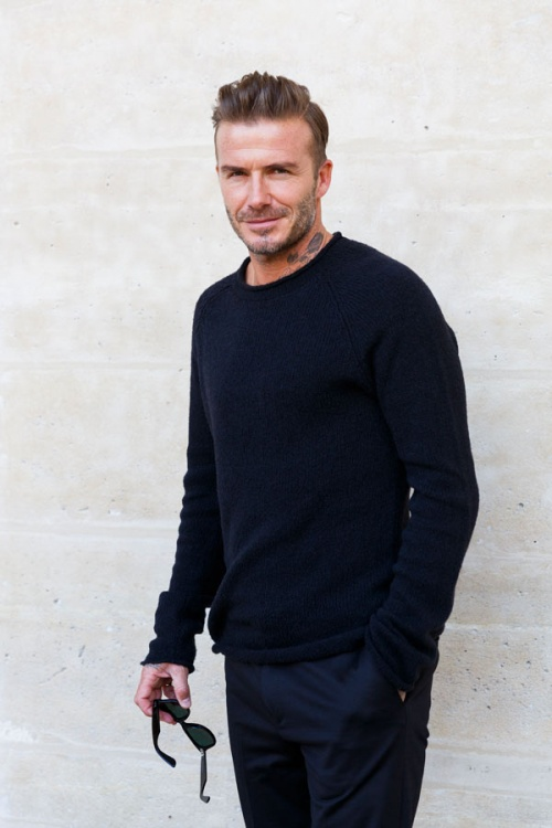 Beckham is doing  more than lending his face to brands
