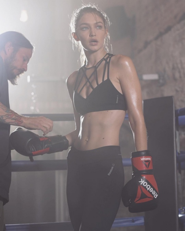 Gigi Hadid is Reebok's latest ambassador (Courtesy: @gigihadid Instagram)