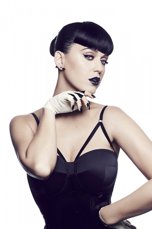 Katy Perry has teamed up with CoverGirl for her own beauty collection