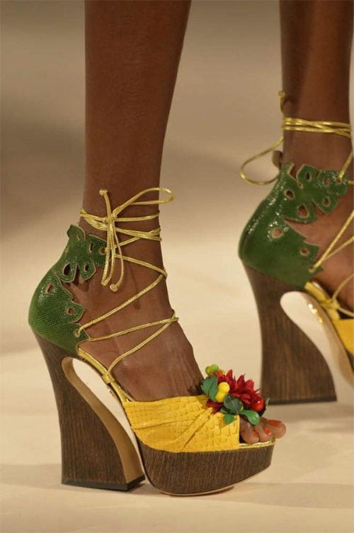 From Charlotte Olympia