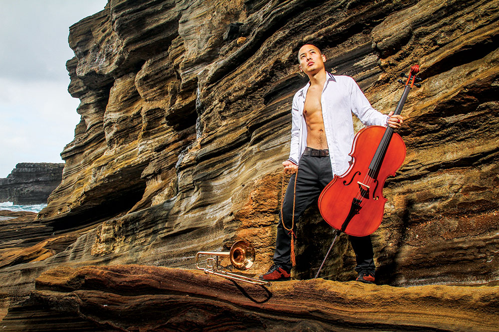 Innovation is a driving force in the work of musician and performer Dana Leong