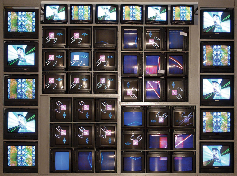 Internet Dreams by Nam June Paik (1994)