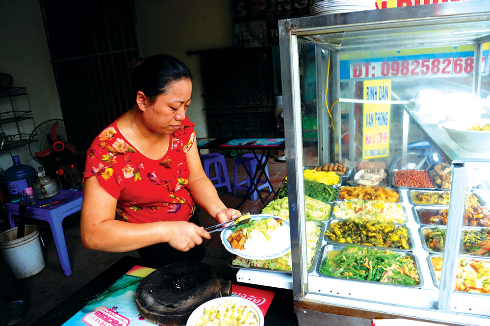 Street-side stalls offer authentic tastes