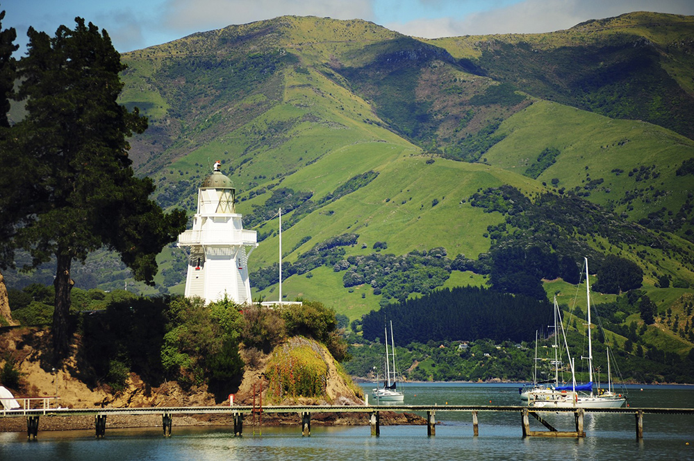 Akaroa, a former colonial village in New Zealand (Credit: willcao911 / Istock.com)