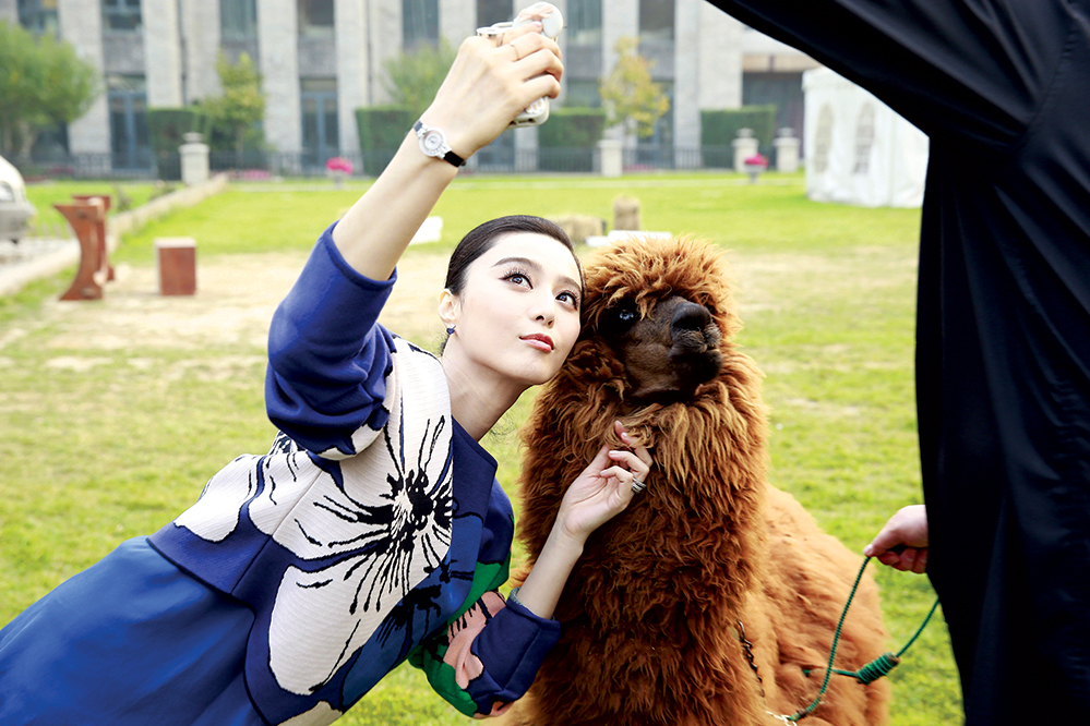 Fan Bingbing is said to be one of the best-paid actresses in the world, partly because of her links to luxury brands