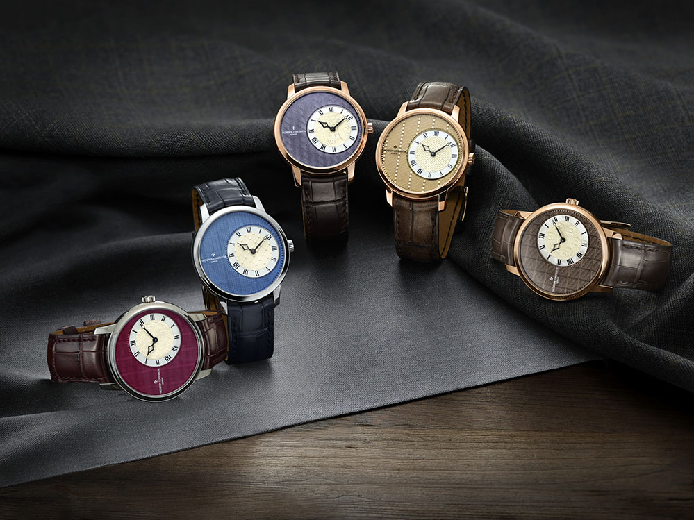 "The Vacheron Constantin ""Métiers d'Art Elégance Sartoriale"" collection"
