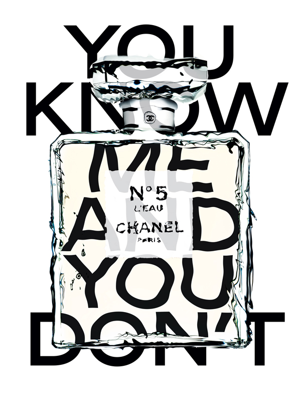 An iconic advert for Chanel No.5