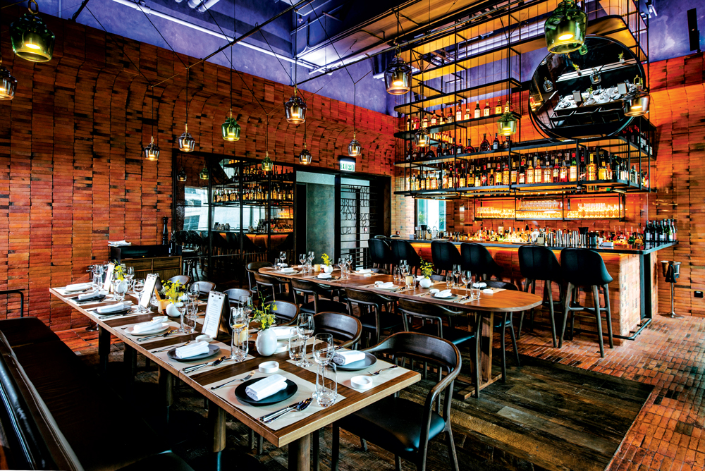 Mercato, Hong Kong, the chef's first concept in the city