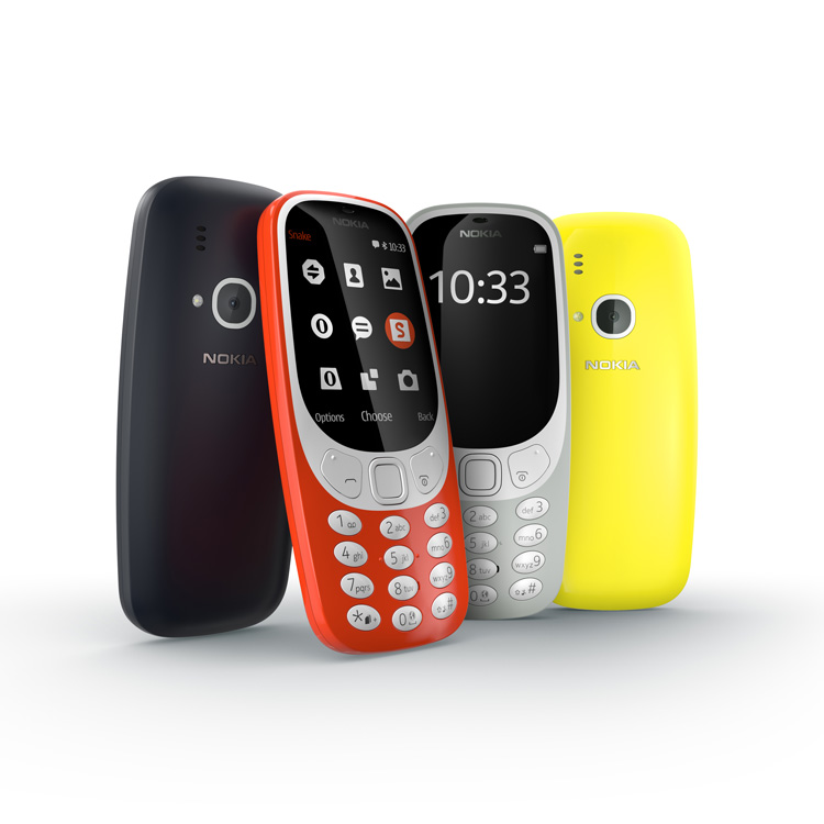 The new Nokia 3310 in all its colourful glory