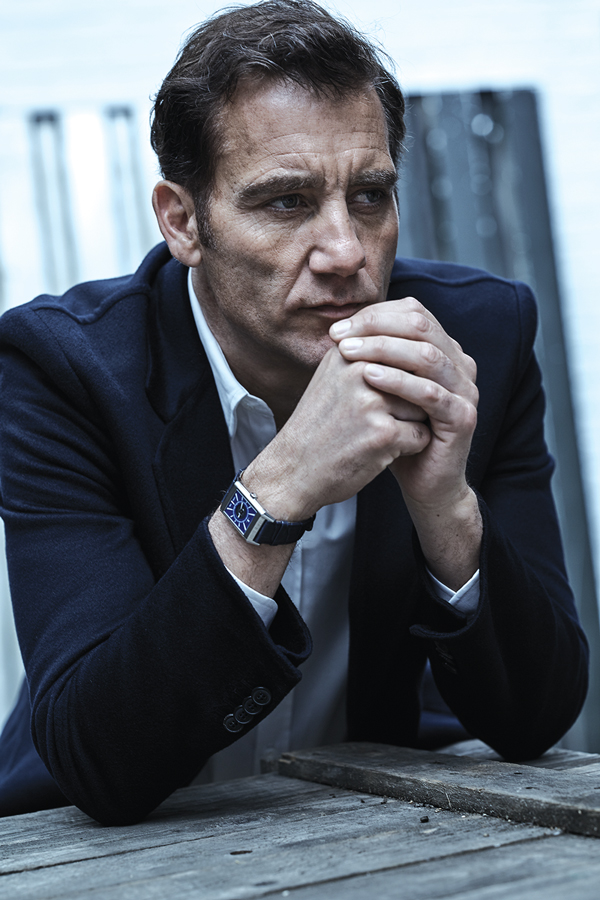 Clive Owen sporting Jaeger-LeCoultre