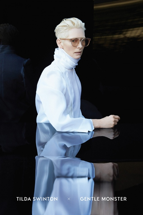 Tilda Swinton teams up with Gentle Monster on eyewear collection