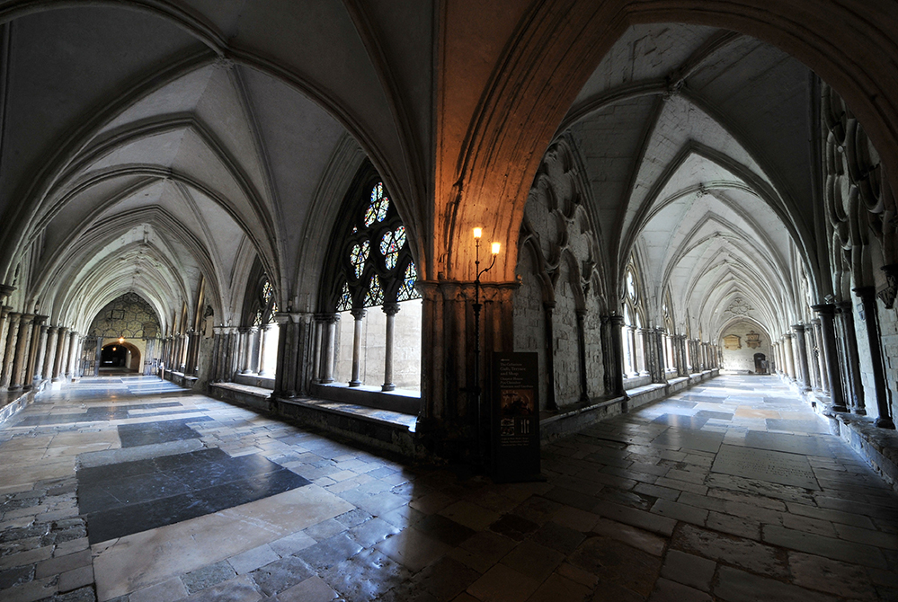 Cloisters at Westminster Abbey (Copyright: Dean & Chapter of Westminster)