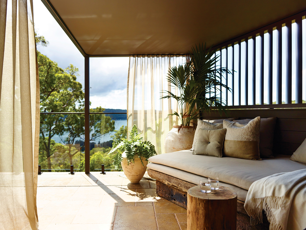 Gaze out to the sea from the comfort of your pavilion
